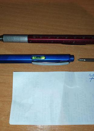Ручка-мультиинструмент 7-в-1 (стилус, отвертки, уровень)