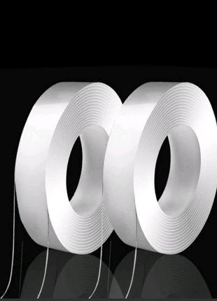 Многоразовая двухсторонняя прозрачная клейкая лента