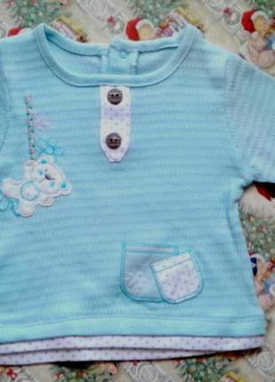 Кофта для малыша из чистого хлопка, flexi, турция.