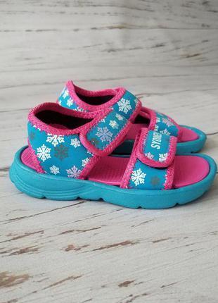 Детские аквашузы/летние босоножки для девочек 28