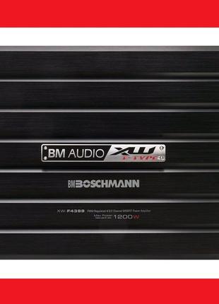 Усилитель автомобильный Boschmann XW-F4399 / 4-х канальный