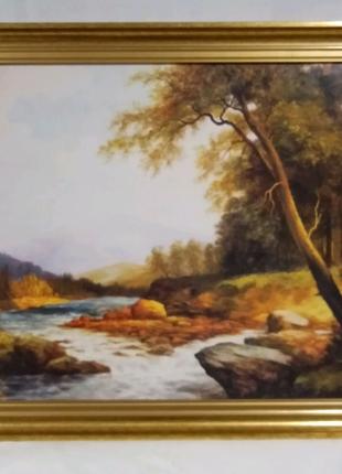 Картина репродукция 70 х 50 см.