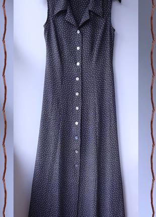 Платье макси в горошек Nico Nico Nico Nico