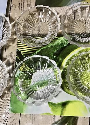 Набір хрустальная посуда салатница селёдочница лот