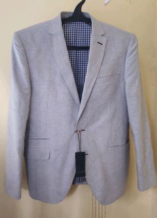 Лёгкий льняной пиджак немецкого бренда STNS