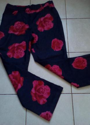 #акция 1+1=3 #винтажные  стрейчевые джинсы в розах #