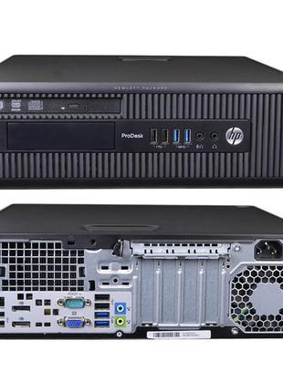 HP 600 G1 SFF / i3 4130 3.4GHz / RAM 4GB / HDD 500GB