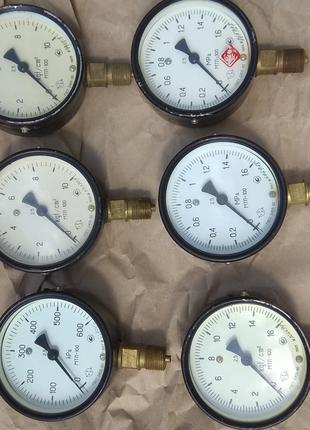 Манометр МП-4У шкала от 0-6 кгс/см2