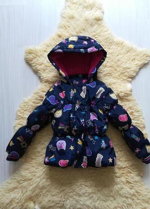 Яркая куртка на 2-3 года