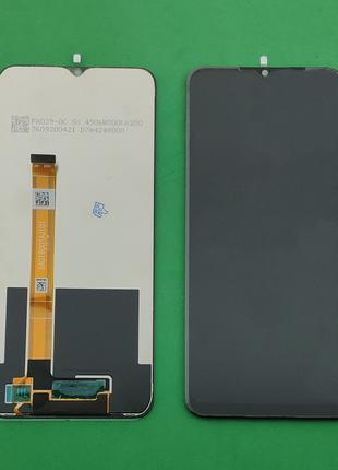 Дисплейный модуль (дисплей + сенсор) для OPPO A11s, черный