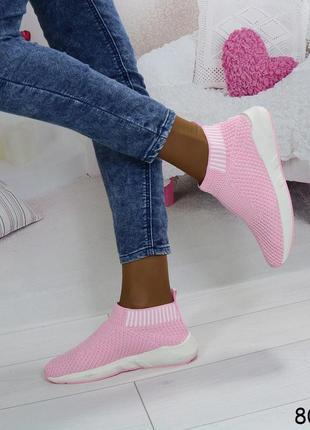 Кроссовки текстильные для занятий спортом