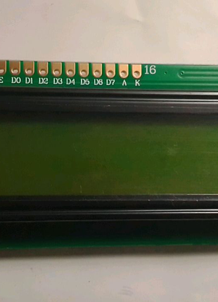 Дисплей lcd 1602 для arduino