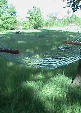 Гамаки, плетёные из качественного шнура