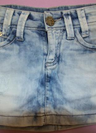 Юбка джинсовая estero ragazza
