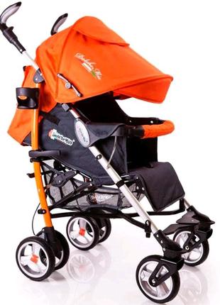Детская прогулочная коляска трость!