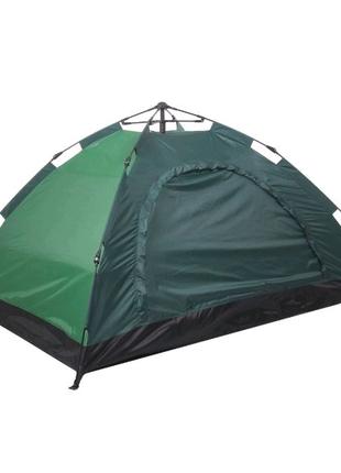 Скидка! Палатка-автомат, 6-ти местная (Зелёная)