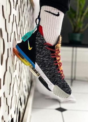 "Nike lebron 16 what the ""1 thru 5"" ✰ мужские текстильные кросс..."