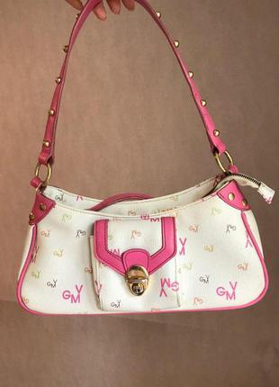 Летняя маленькая белая сумка