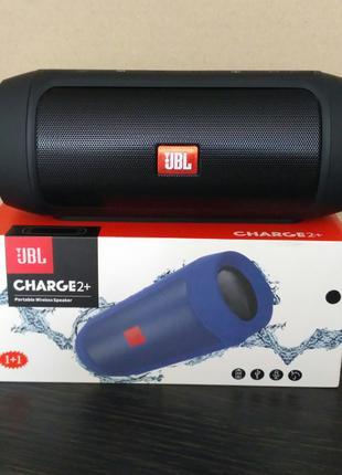 Колонка JBL Charge 2+ Bluetooth FM USB AUX microSD