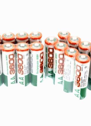 Аккумуляторная батарейка 3600mAh,АА