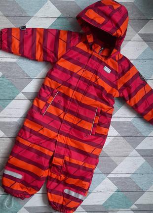 Детский зимний комбинезон для девочки LEGO Wear p.86 Reima Lenne