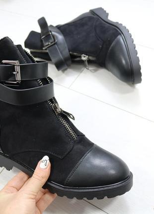 Женские демисезонные ботинки осенние