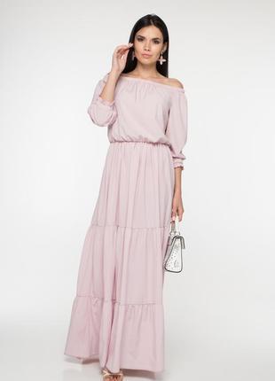 Летнее платье в пол м00034