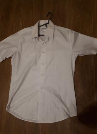 2 рубашки, 48 размер . Белые. Летние.