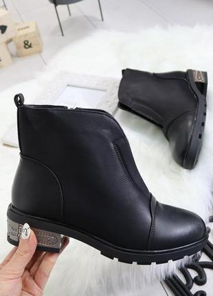 Женские демисезонные ботинки эко кожа