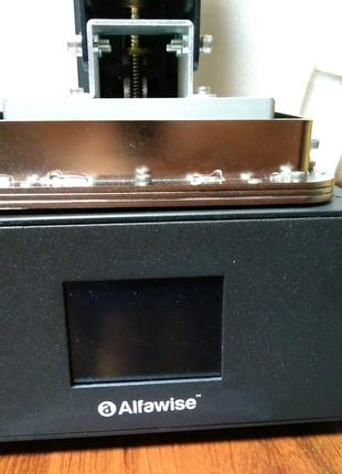 Новый фотополимерный 3д принтер Alfawise w10. LCD UV 3d принтер.