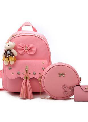 Рюкзак Reoke Pink в наборе с сумкой 2011