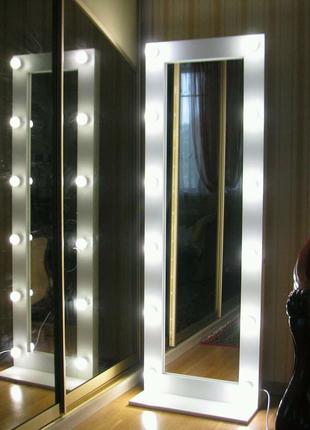 Дзеркало гримерне зеркало визажне макіяжне
