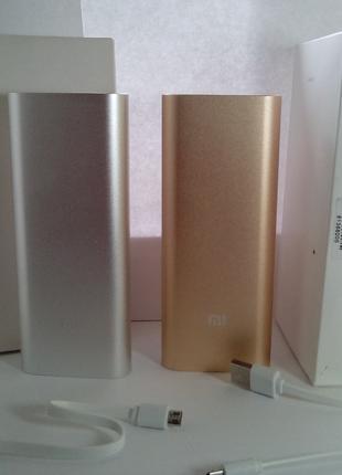 Повер банк Портативное зарядное  Xiaomi Mi Power Bank 16000