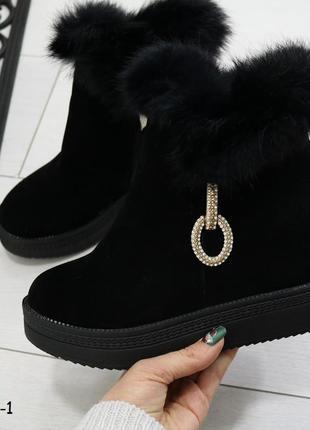Демисезонные женские ботинки весенние