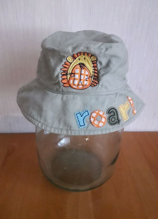 Панама шапочка от солнца Cherokee 0-3 месяцев !  Хлопок