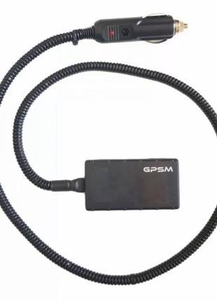 GPS трекер для авто GPSM U9 с подключением в прикуриватель