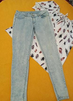 Светлые джинсы варенки!
