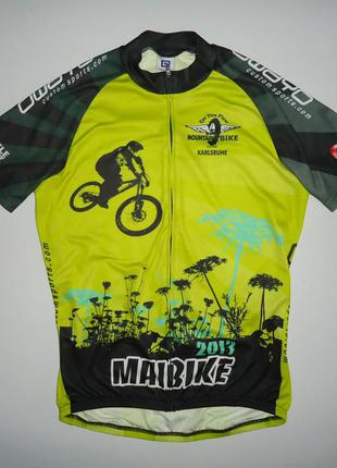 Велофутболка owayo mountain bike велоформа l