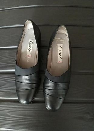 Кожание женские туфли gabor германия