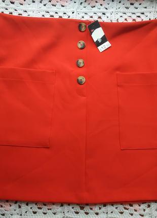 Новая женская летняя юбка # коралавая юбка # george