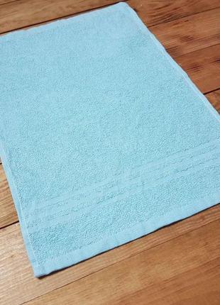 Полотенце кухонное голубое 30 х 40 см miomare