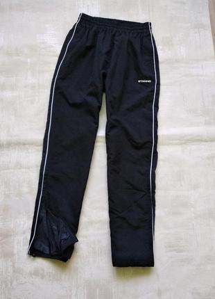Фирменные джинсы спортивные штаны stanno, р. xl