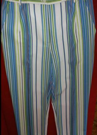 Стильные брюки с высокой посадкой M-L