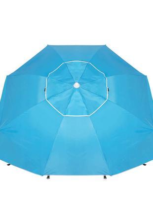 Пляжный зонт-тент 2 в 1 Springos XXL