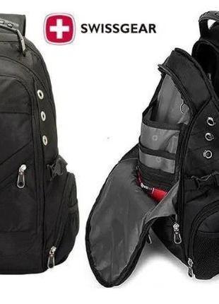 Рюкзак SWISSGEAR MEN BAG 8810 УНИВЕРСАЛЬНЫЙ  Черный Влагостойкий