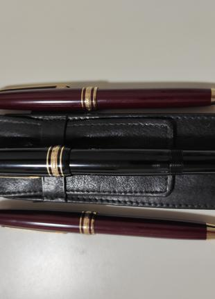 Комплект: 2 ручки + карандаш Montblanc (original).