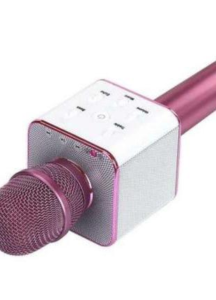 Беспроводной портативный микрофон Micgeek New Q9 Bluetooth Pink