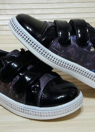 Туфли - мокасины из эко-кожи для девочки 26-31