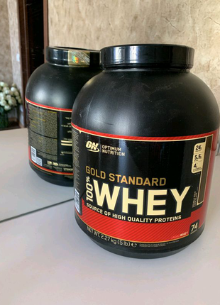 Протеин Optimum Nutrition 100% Whey Gold Standard 2.27 кг