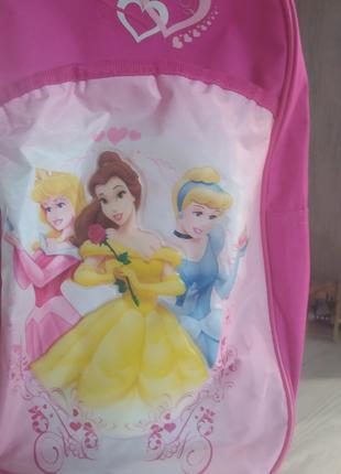 Чемодан Disney princess на колесах с выдвижной ручкой